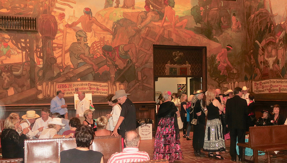 The Santa Barbara Courthouse Mural Room