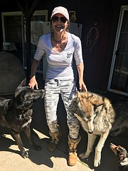 "Animal rescuer Julia Di Sieno (pictured): ""If an animal needs [rehab], we don't say no."""