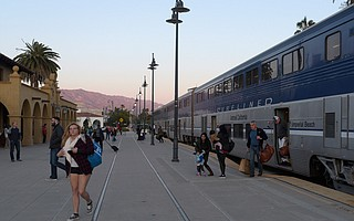 To kick-start the new morning service, train commuters between Ventura and Santa Barbara ride free in April.