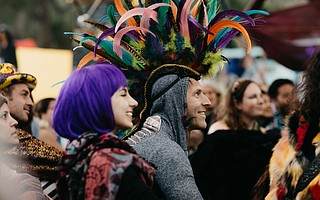 Lucidity Festival returns to Live Oak for a weekend of music, art installations, and interactive environments April 6-8.
