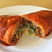Super Cuca's Chile Relleno Burrito
