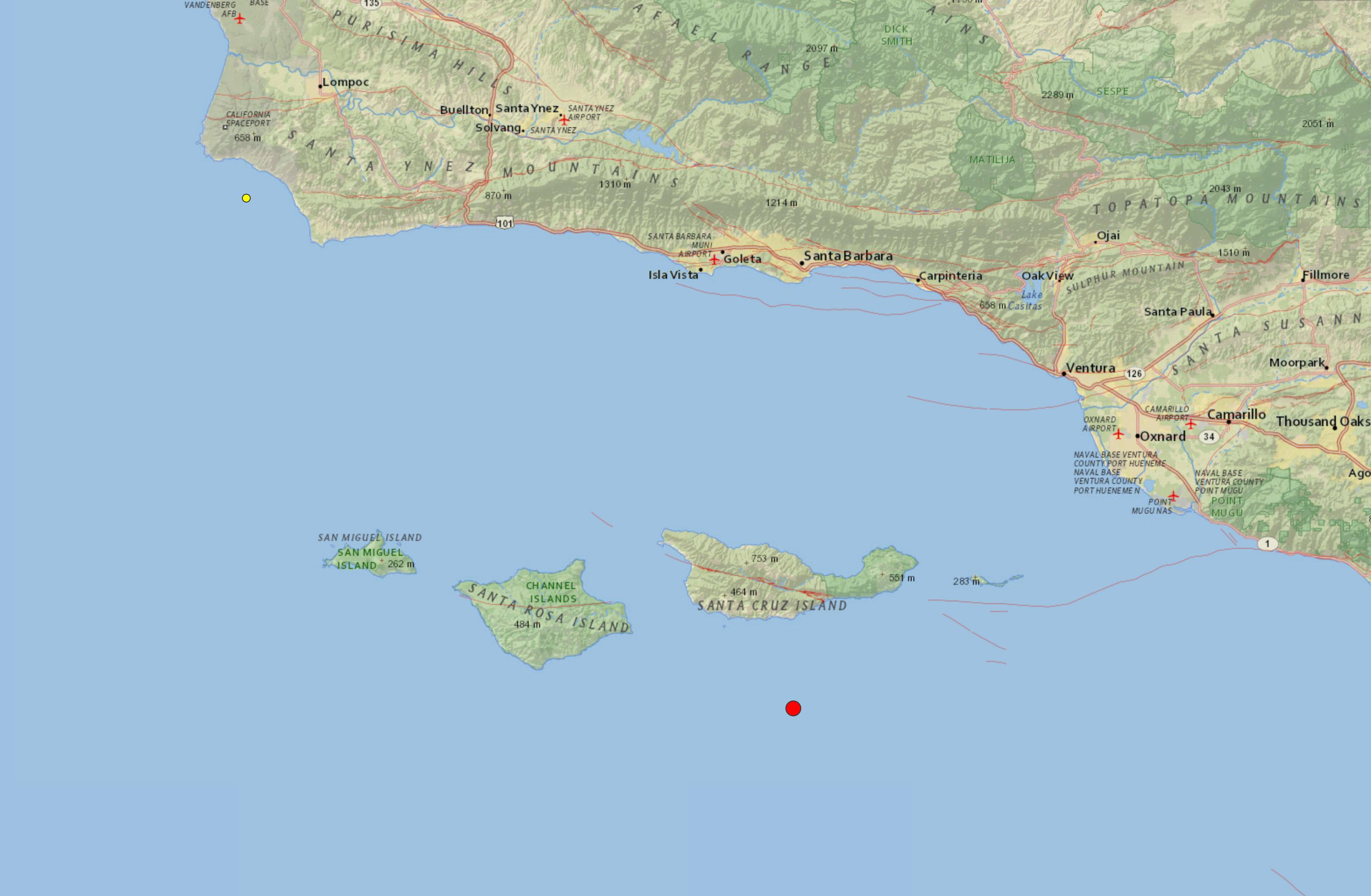 Weather Report Santa Cruz Island