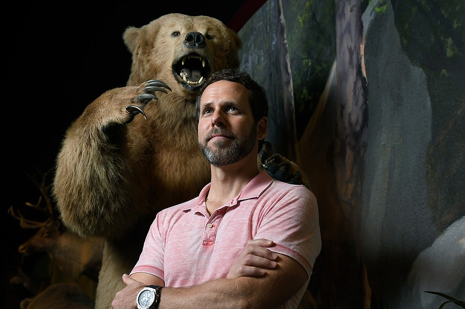 Peter Alagona is often the first professor a UCSB environmental studies student will see, and he takes that responsibility seriously. He's also serious about studying whether grizzlies can ever come back to California and why wildlife is thriving in cities today.