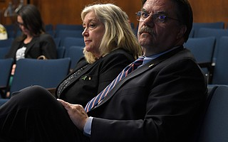"""Behavioral Wellness Director Alice Gleghorn and Sheriff Bill Brown both want more than """"bailing wire and duct tape"""" to maintain Crisis Intervention Training."""