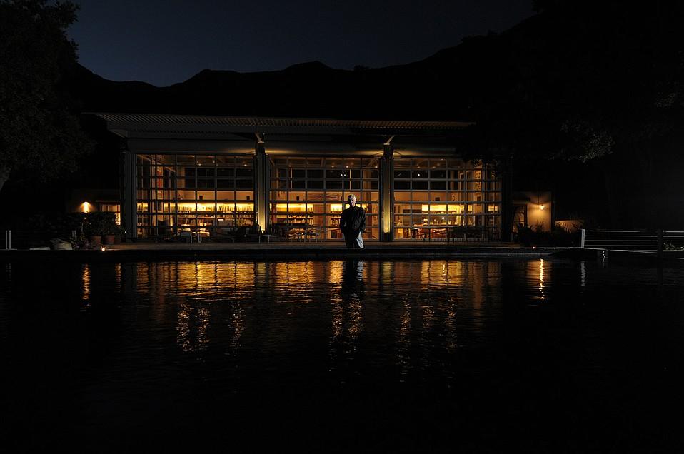 Architect Barton Meyers at his Toro Canyon home