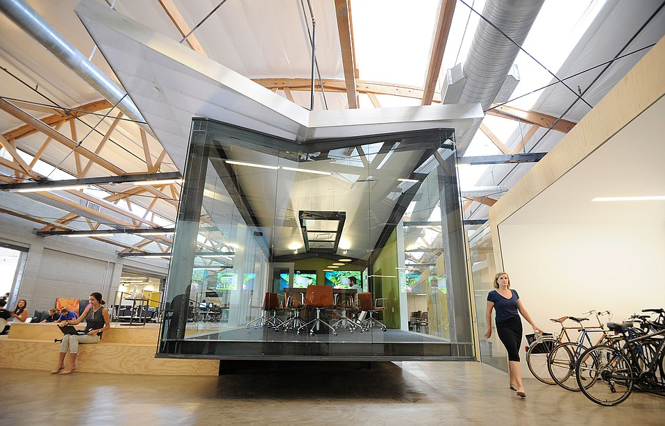 Inside the Sonos offices in downtown Santa Barbara