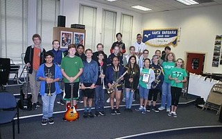 "Santa Barbara Junior High placed first in a 2017 jazz band competition, its dedicated members playing during a 7 a.m. ""zero"" period and likely taking a college-oriented foreign language as an elective."
