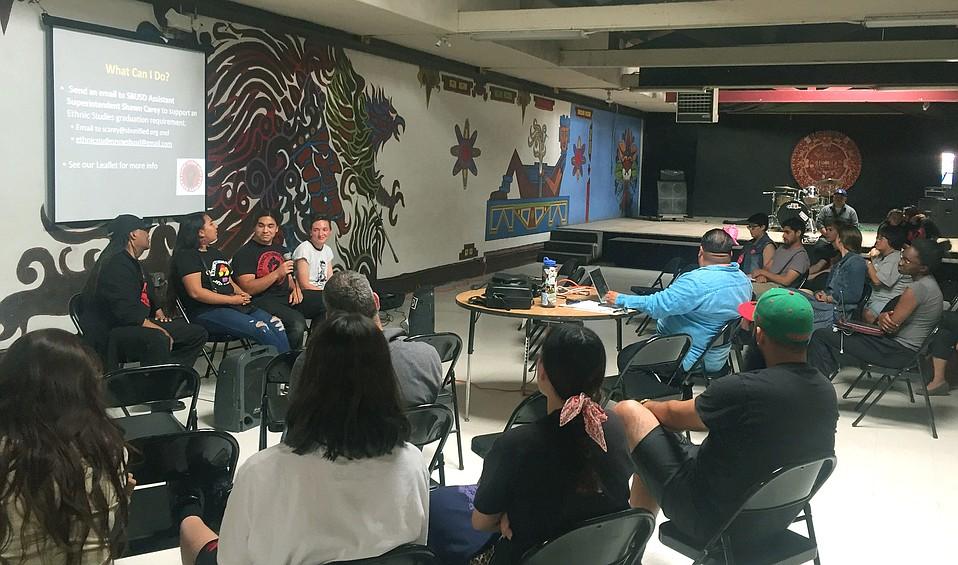Ethnic Studies block party at La Casa de la Raza
