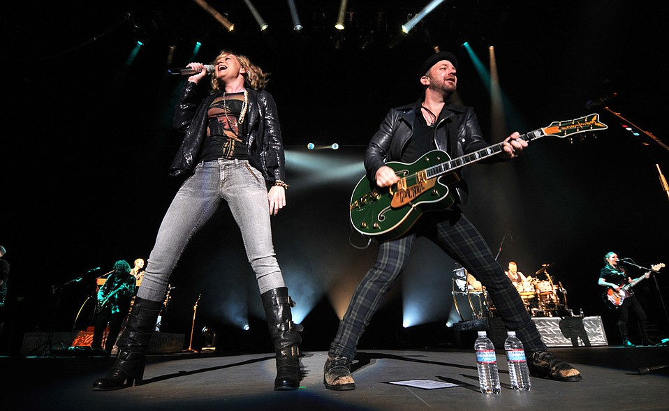 Sugarland performing back in 2010.