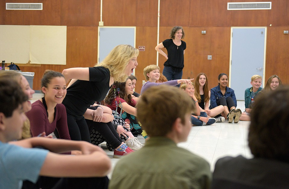 Students in local schools enjoy the influence of UCSB students in a program directed by Heather Stanford.