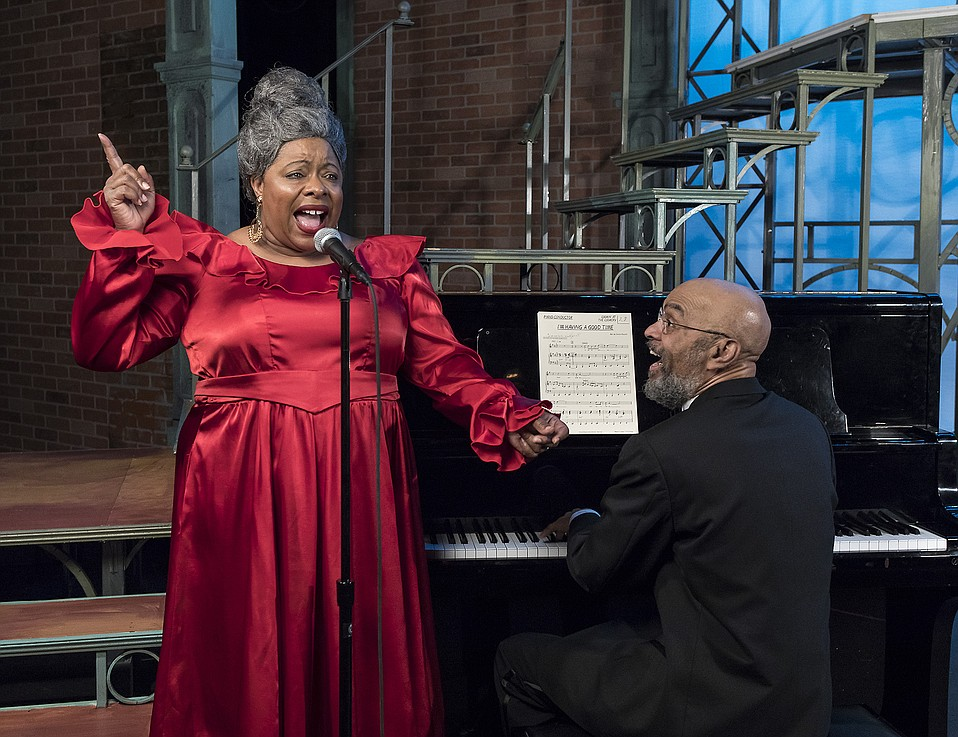 LaVon Fisher-Wilson play singer Alberta Hunter at an older point in her life.