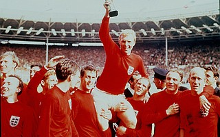 The last -- and only -- time England won the World Cup was in 1966