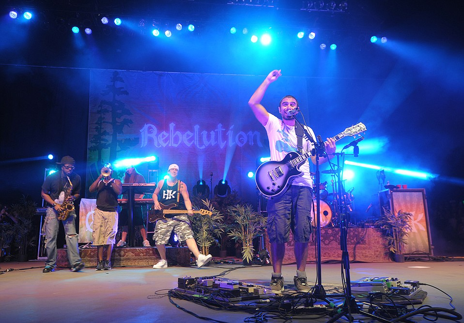 S.B.-born reggae band Rebelution returns to the Bowl on September 9 in support of its new album, Free Rein.