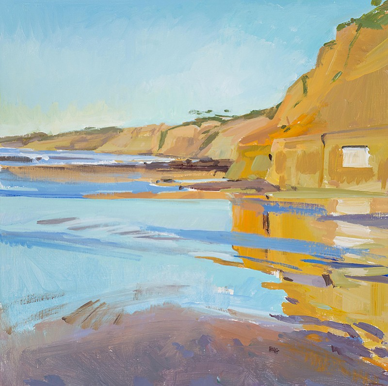 Marcia Burtt's <em>Low Tide, End of Day</em>