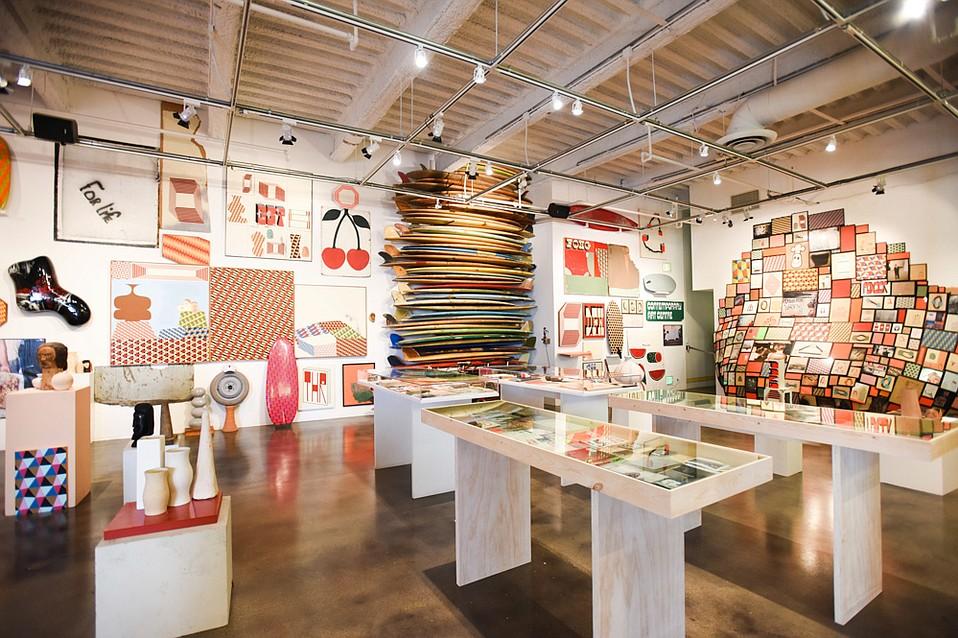 Barry McGee: SB Mid Summer Intensive, Installation view at Museum of Contemporary Art Santa Barbara, Santa Barbara, CA, July 1 - October 14, 2018
