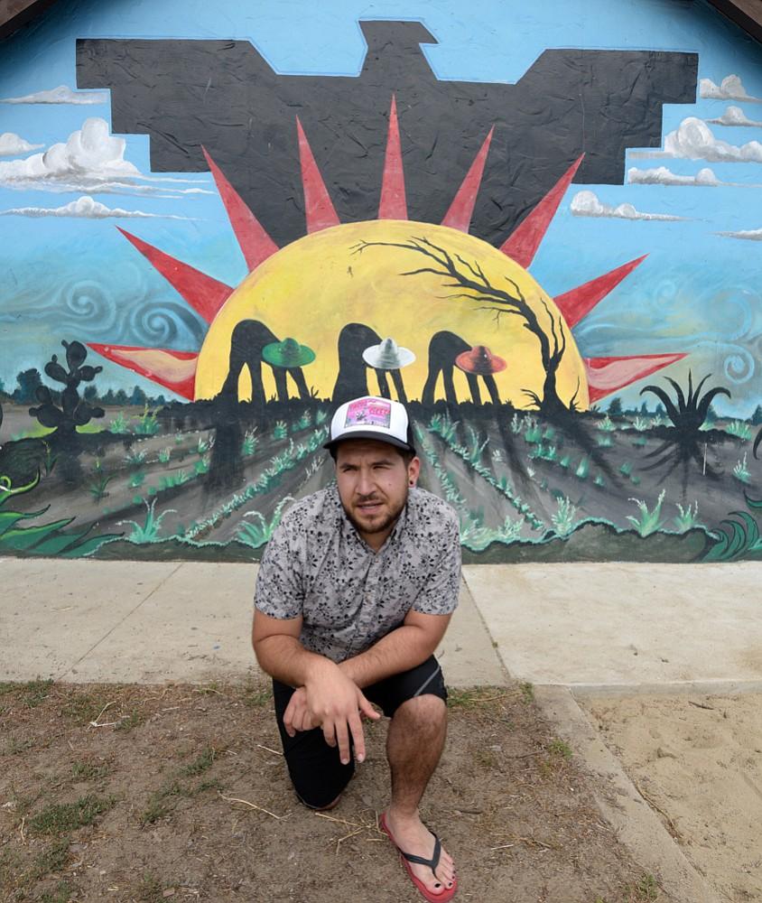 Michael Montenegro at Ortega Park