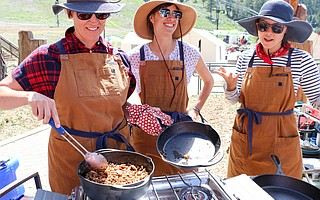 Longtime friends and bloggers Mai-Yan Kwan, Aimee Trudeau, and Emily Nielson published <em>Dirty Gourmet: Food for Your Outdoor Adventures</em>