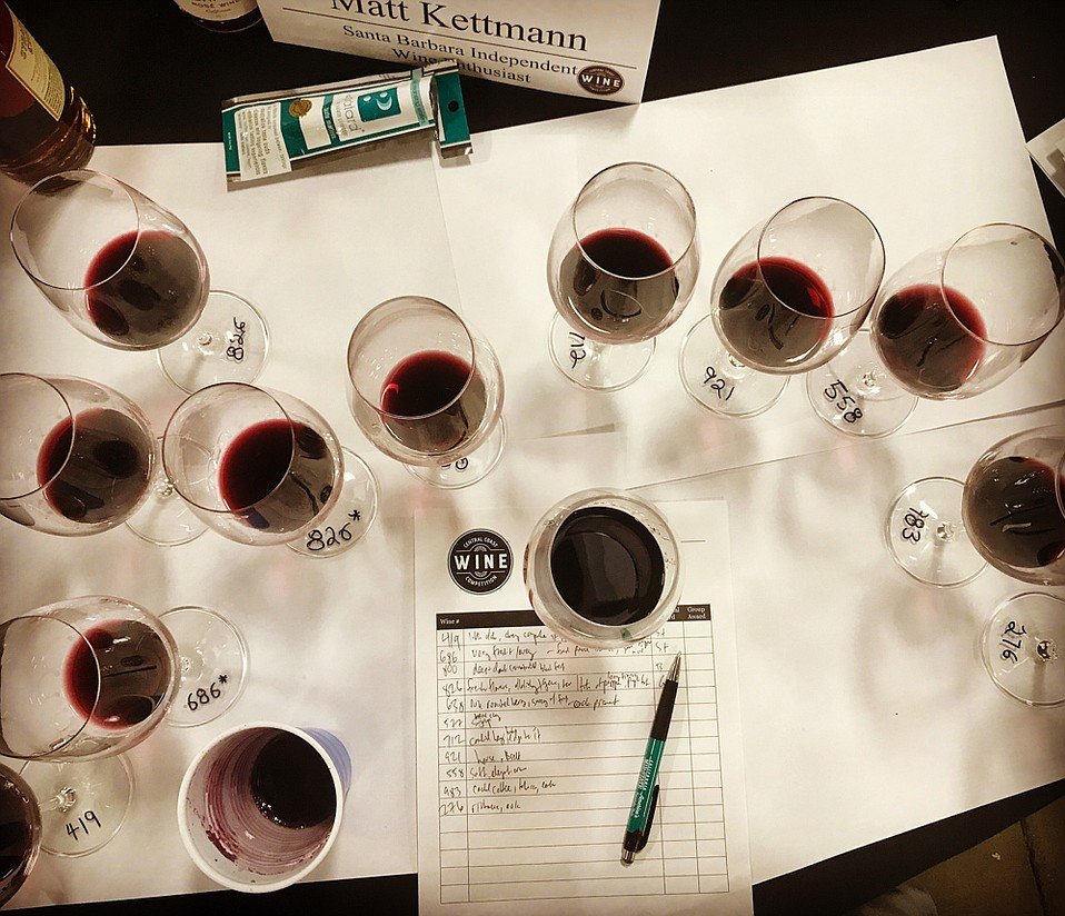 Inside the Central Coast Wine Competition
