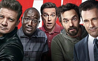 <em>Tag</em> starrs Ed Helms (<em>The Hangover</em>), Jon Hamm (<em>Mad Men</em>), Hannibal Buress (<em>Neighbors</em>), Isla Fischer (<em>Wedding Crashers</em>), Jake Johnson (<em>New Girl</em>), and Jeremy Renner (<em>The Hurt Locker</em>)