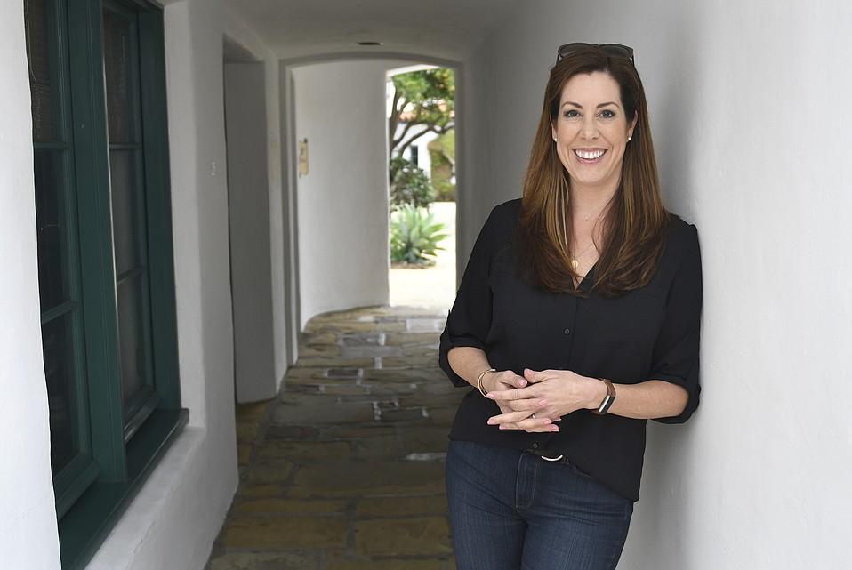Katie Grassini, CEO of Grassini Family Vineyards in El Paseo.