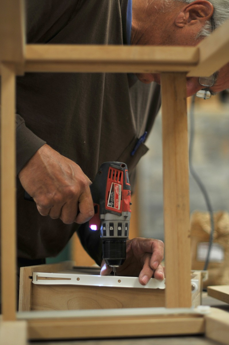 Continuing education woodworking class