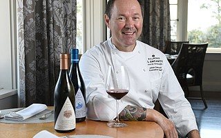 Johan Denizot, Executive Chef at Belmond El Encanto's Dining Room and Terrace