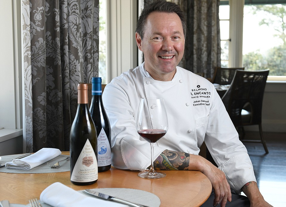 Johan Denizot, Executive Chef at Belmond El Encanto's Dining Room and Terrace
