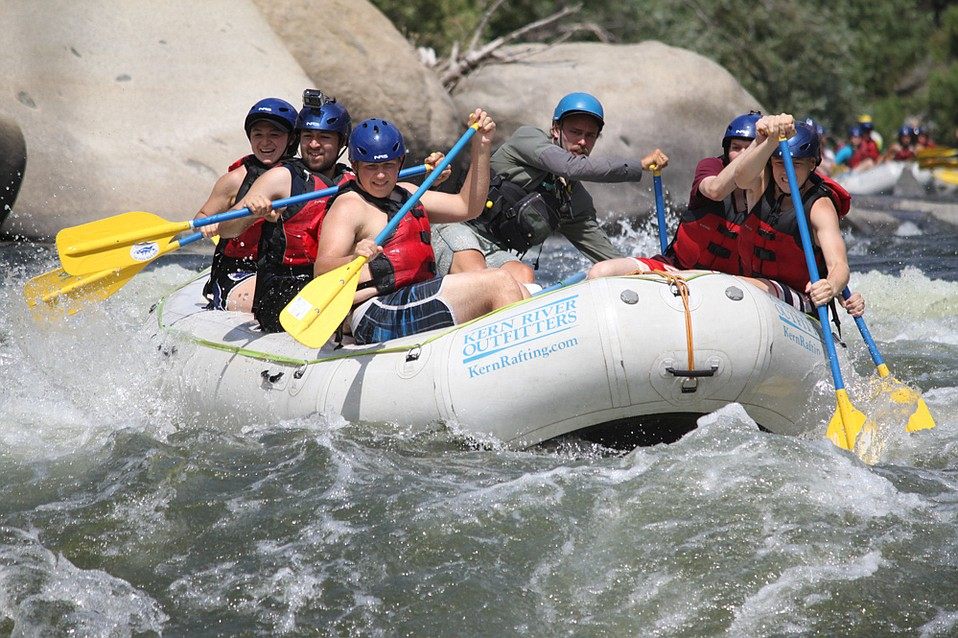 River rafting with Kern River Outfitters