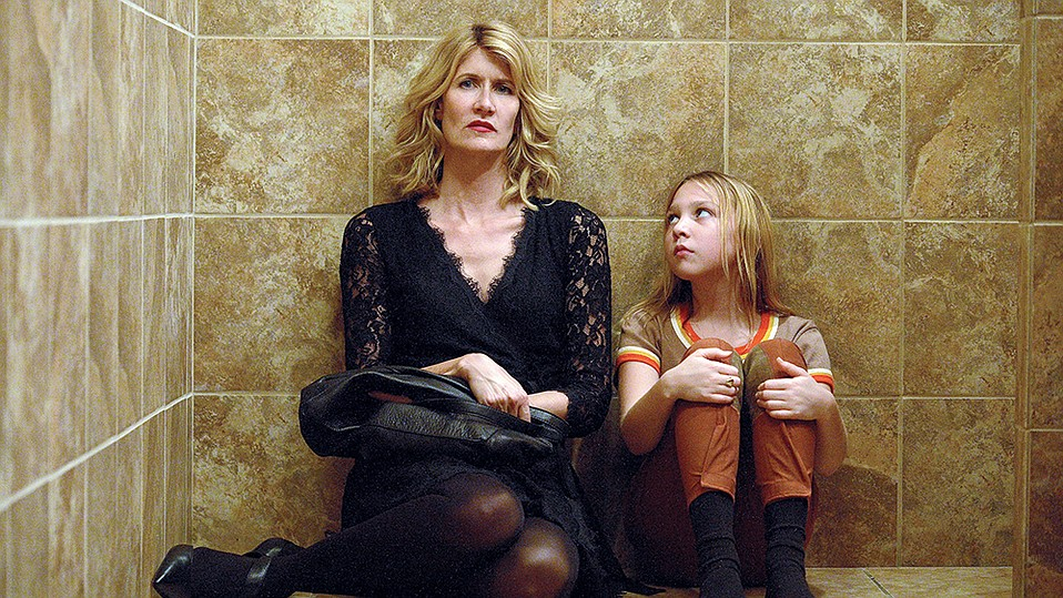 Laura Dern, playing writer/director Jennifer Fox, works to recapture chilling truths and self-deceptions from a youthful moment of sexual confusion and awakening.