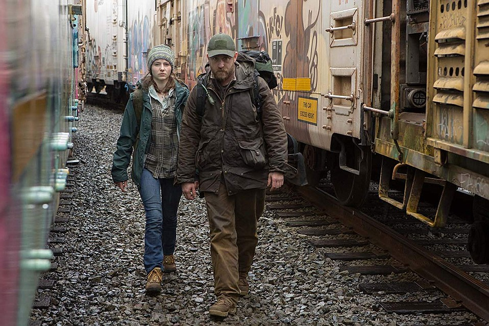 <em>Leave No Trace</em> starrs Ben Foster and Thomasin McKenzie