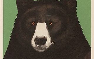 """Black Bear"" by Beth Van Hoesen"