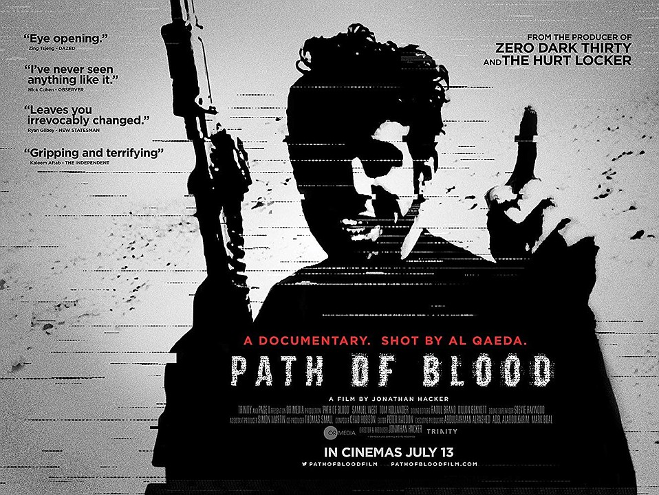 <em>Path of Blood</em> documents a wave of terrorist bombings by Al Qaeda inside Saudi Arabia in 2003 and is based on 500 hours of raw video footage shot by the jihadis themselves and Saudi security forces.