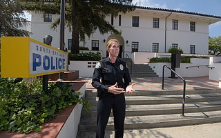 Police Chief Lori Luhnow