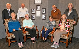 Samarkand senior living community recently recognized the anniversaries of several couples who have been married for 70 or more years.
