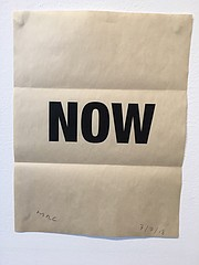 'Now' envelope from Mark Raymond Collins
