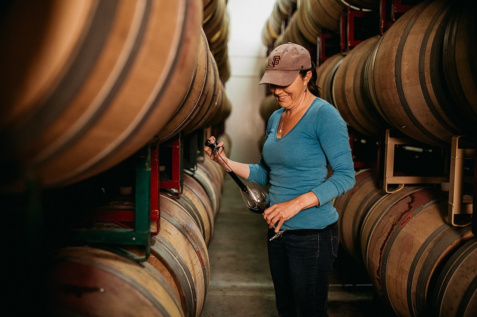 Fourth-generation winemaker Adrienne St. John is improving wine and vineyard quality at Rideau Vineyard.