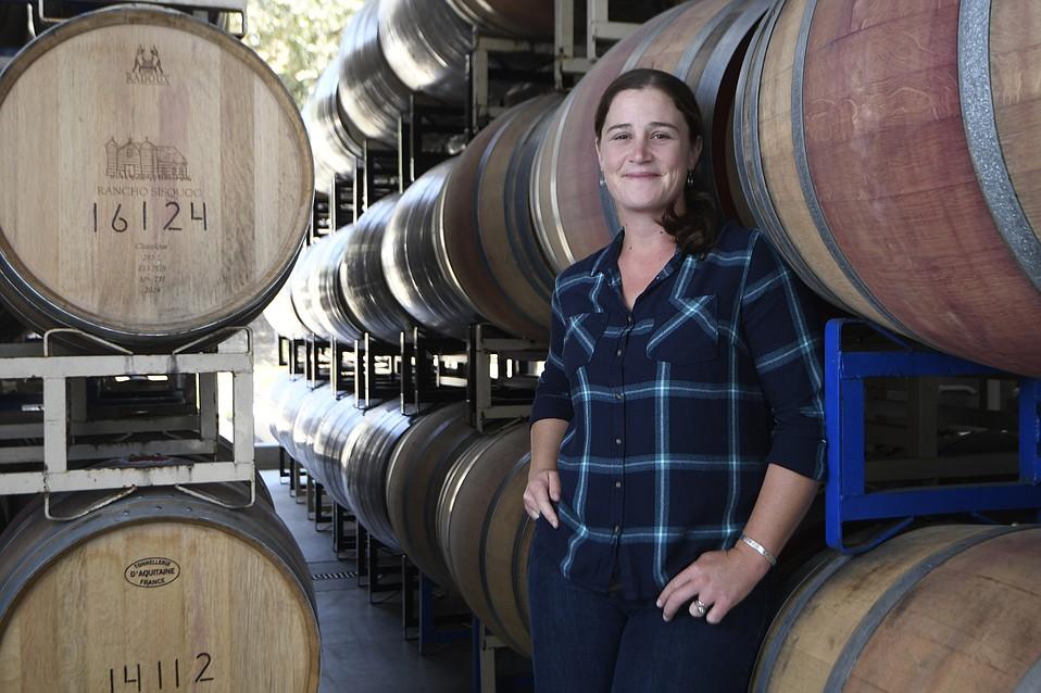 Rancho Sisquac Winery Winemaker Sarah Holt Mullins