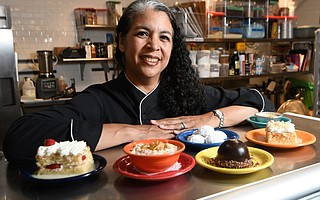 Eileen Randall now fills the dessert niche at Corazón Cocina.