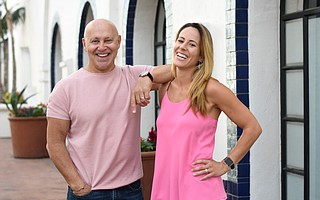 Business partners Glen Broomberg and Lindsay DeAguila are organizing Santa Barbara's first ever Night Market in the empty Macy's building