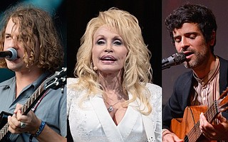 Kevin Morby, Dolly Parton and Devendra Banhart