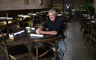 "Longtime Paradise Café manager Jim Mishler took over the old Downey's space on State Street and is serving ""simple food, done well."""