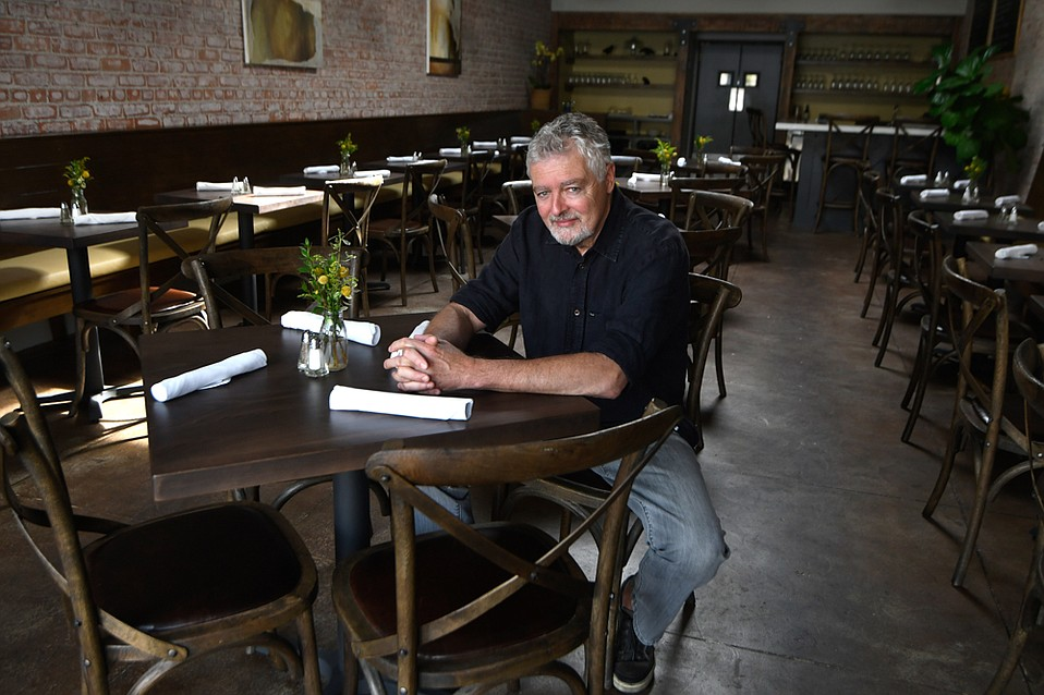"""Longtime Paradise Café manager Jim Mishler took over the old Downey's space on State Street and is serving """"simple food, done well."""""""