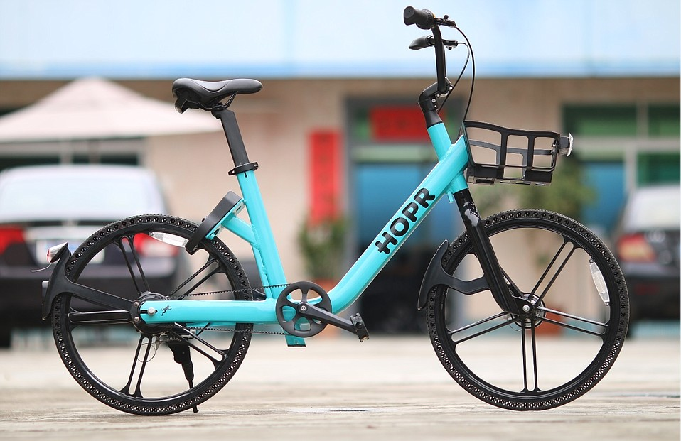 About half of UCSB's HOPR fleet is expected be electric by January 2019, requiring purchase of a battery pack that plugs into the basket and good for 10 miles.