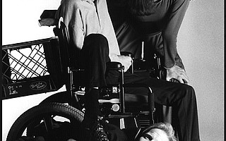 Neil Marcus, Kathryn Voice, and Matt Ingersoll (lying down), pictured above in 1988, reprise their roles for the show's 30th anniversary.
