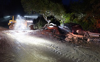The county's Office of Emergency Management and its director, Rob Lewin, faced intense criticism for the confusing evacuation warnings it sent out before and during the 1/9 Debris Flow. A new report recommends ways the department can improve its public communication methods.