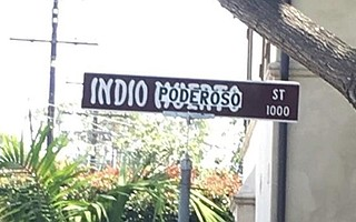 A community group has formed to change the name of Santa Barbara's Indio Muerto Street.