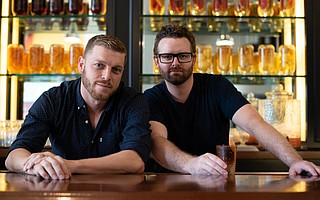 The Middle Child owners Ivo Peshev and Taylor Melonuk are maximizing their ideal location between the two downtown farmers' markets to prepare the freshest-possible food.