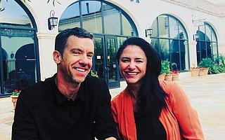 Cara Ferrick and Brandon Cox