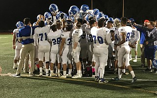 Dos Pueblos High laid out the welcome mat for the Lompoc Braves and took a 42-21 lashing in return.