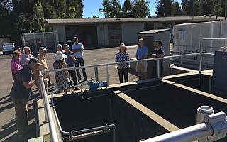 Amid a contentious, well-financed campaign to unseat two incumbents on the Montecito Sanitary District board, the district conducted public tours of its wastewater treatment plant on Channel Drive last weekend.